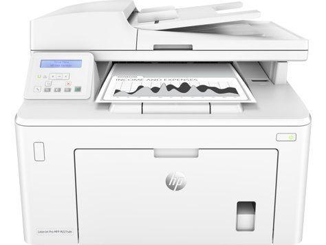 Ver HP LaserJet Pro M227sdn Laser A4 Color blanco