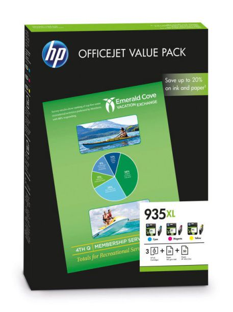 Ver HP Pack de ahorro 935XL