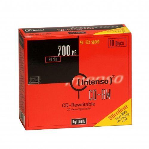 Intenso CD RW 700MB 80min 12x CD RW 700MB 10pieza s
