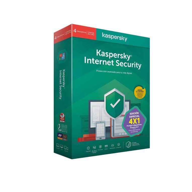 Kaspersky Internet Security 2020 4 Lic