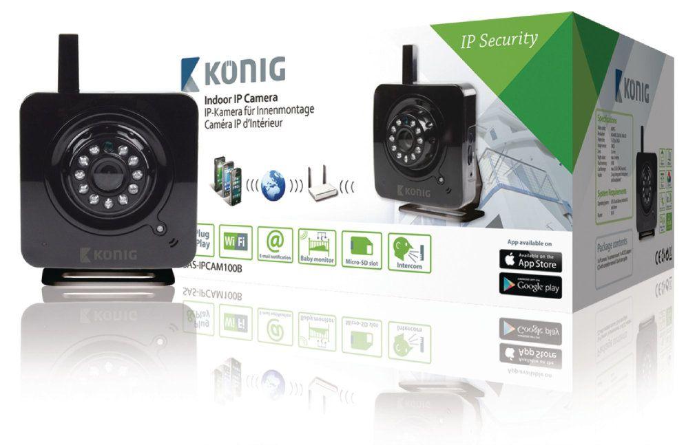 Konig SAS IPCAM100B camara de vigilancia