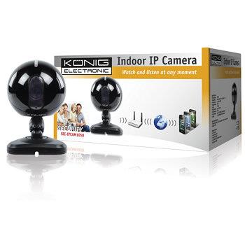 Konig Sec Ipcam105 Ip Interior Negro