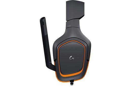 Logitech G231 Prodigy Binaurale Diadema Negro Naranja