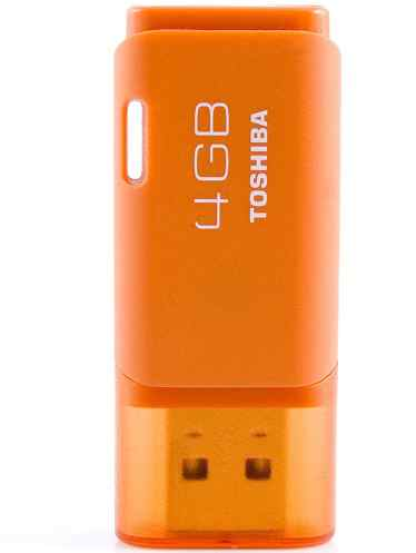 Mem Usb Toshiba 4gb Orange Hayabusa