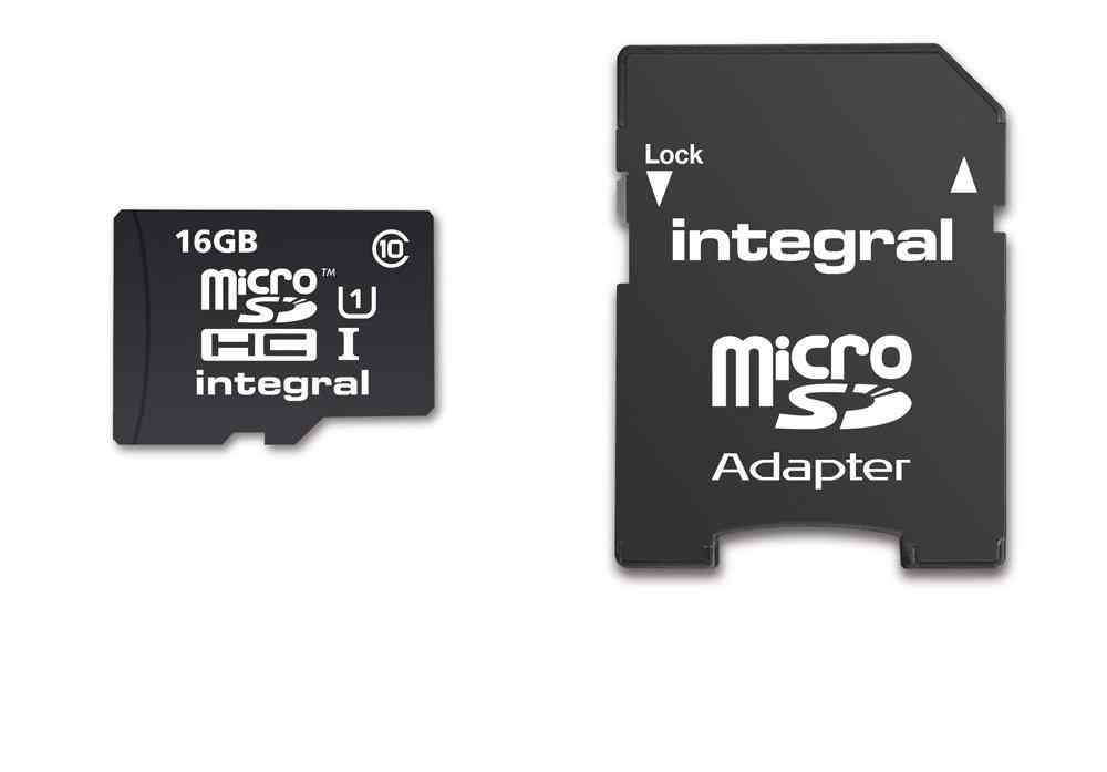 Micro Sd Xc Integral 16gb C10  C