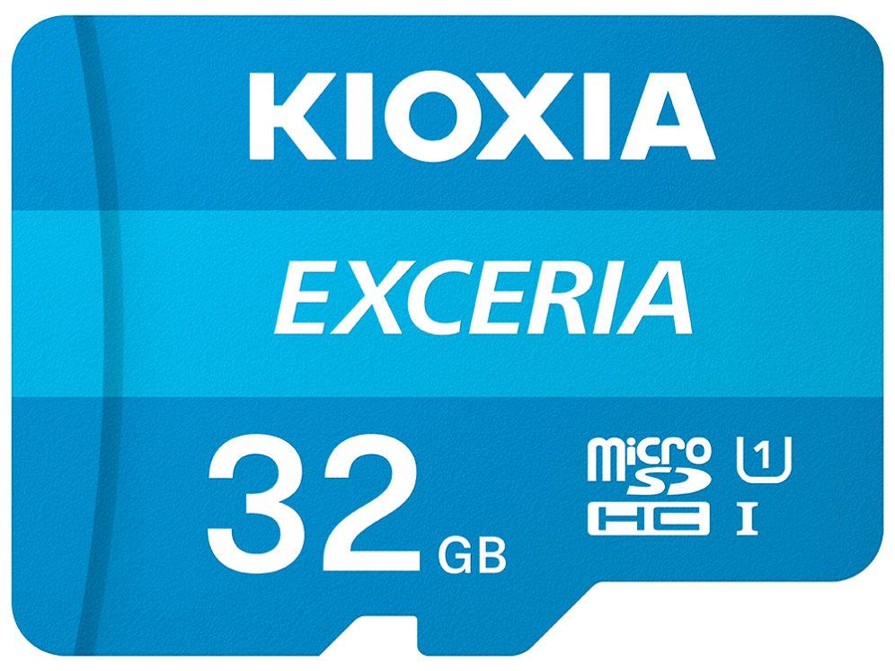 Micro Sd Kioxia 32gb Exceria Uhs I C10 R100 Con Adaptador