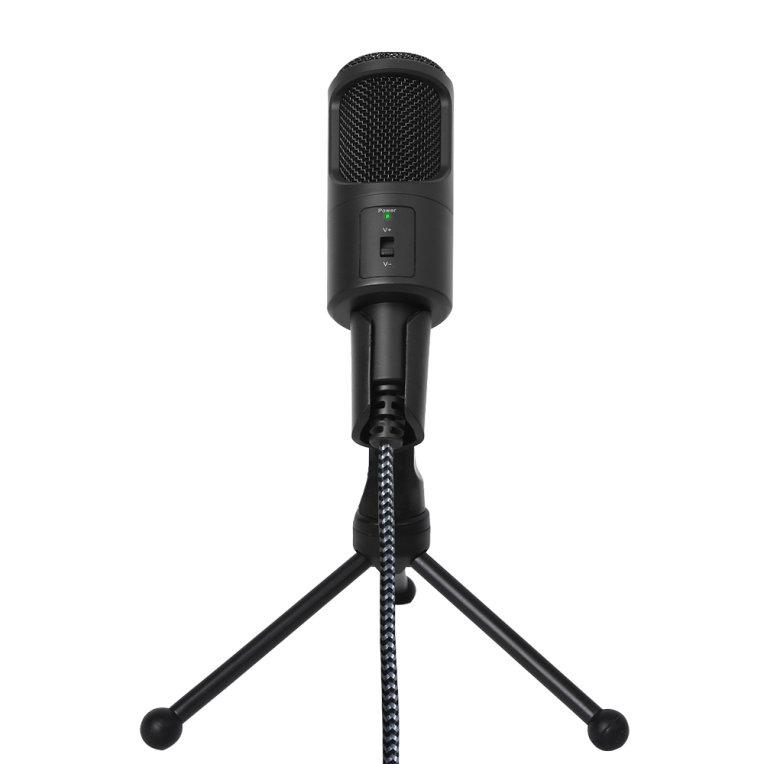 Microfono Condensador Woxter Mic Studio 50 Negro