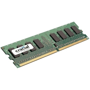 Ver MOD CRUCIAL DDR2 2GB 800 CL6 UNBUFFERED
