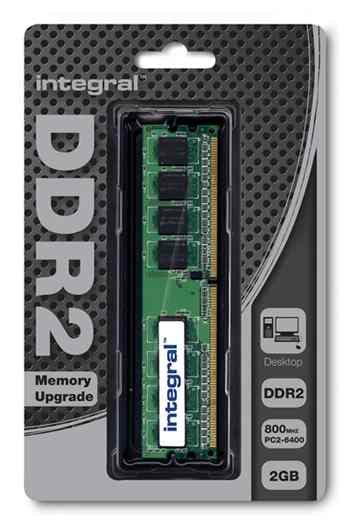 Ver MOD INTEGRAL DDR2 2GB 800 CL6