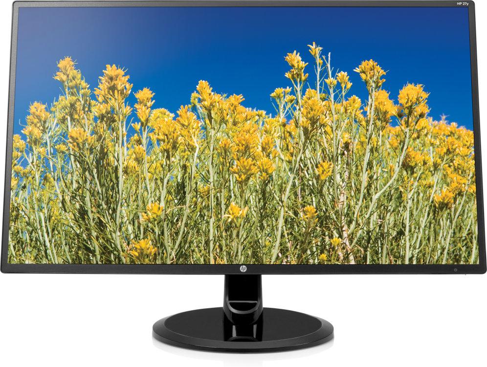 Monitor Hp 27y 27 1920x1080 5ms Vga Dvi Negro