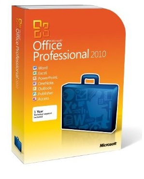 Ms Office Pro 2010 Retail 2pcss 32