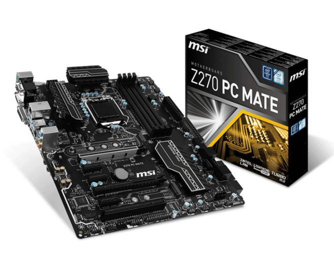 Ver MSI Z270 PC MATE