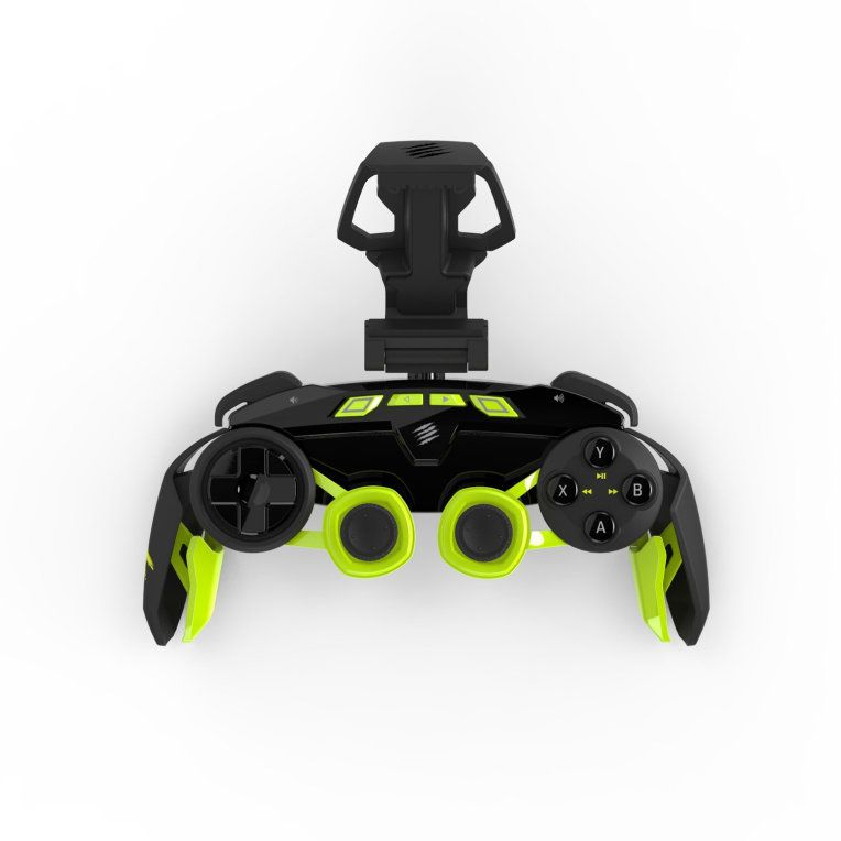 Ver Mad Catz LYNX 3 Gamepad PC Tableta Negro Verde