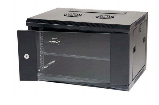 Monolyth SH6606 Freestanding rack 6U 60kg Negro estante