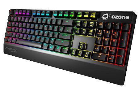 Ver Ozone Teclado Gaming Strike Pro Spectra MX Rojo