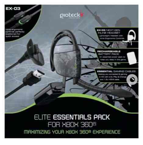 Ver PACK ELITE  AURICULAR EX03 BATERIA CABLE USB CABLE