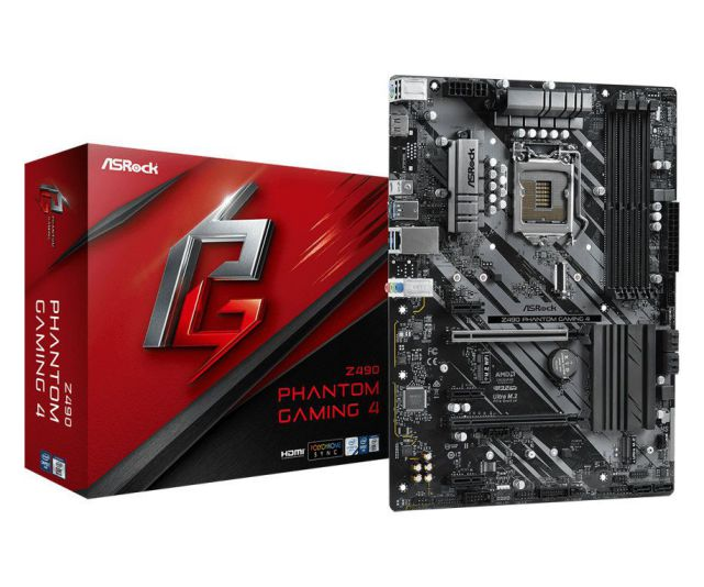 ASROCK 1200 Z490 PHANTOM GAMING 4