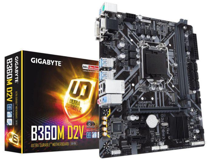 Ver GIGABYTE B360M D2V