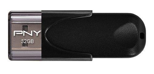 PNY Attache 4 20 32GB USB 2 0 Negro