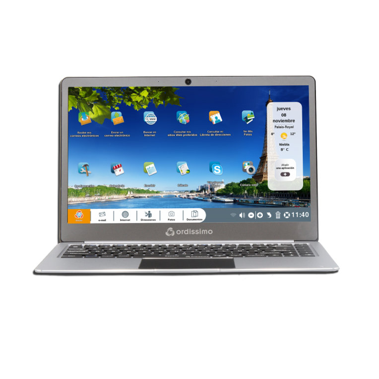 PORTATIL ORDISSIMO SARAH N4000 128GB SSD 15 6 METAL