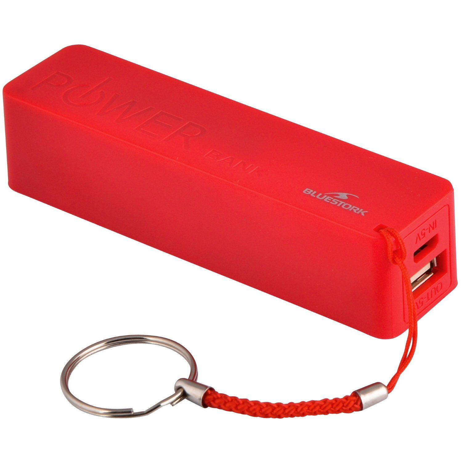 Ver POWER BANK Bluestork5V 2000mAh RED