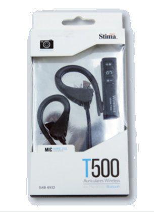 Ver PROSTIMA SAB 6932 gancho de oreja Binaurale Bluetooth Negro auriculares para movil