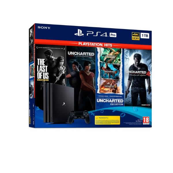 PS4 PRO 1TB TLOU UNATHAN UNCHARTED