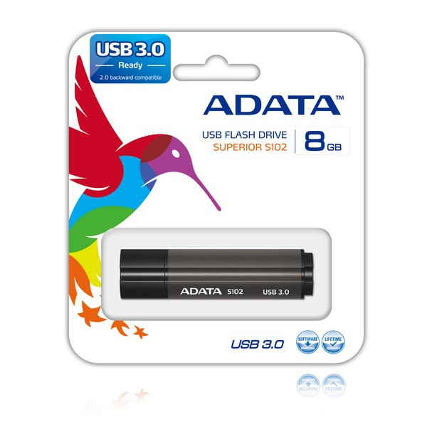 Pendrive Adata As102 P 8gb 30