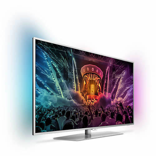 Ver Philips 55PUS6551 6000 series 4K ultraplano