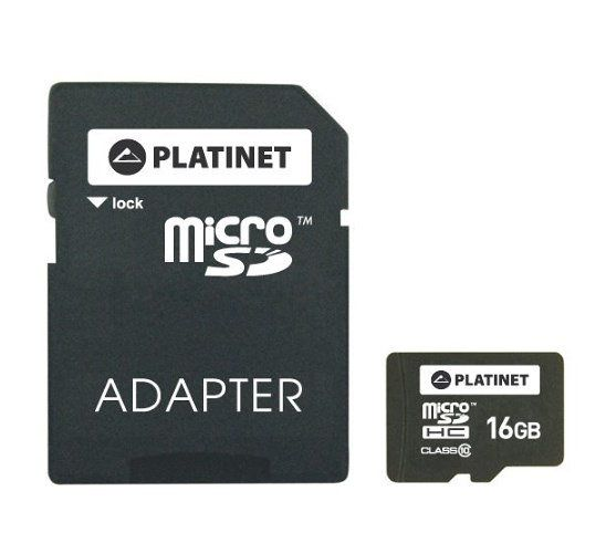 Ver Platinet 16GB MicroSDHC Adapter SD Clase 10