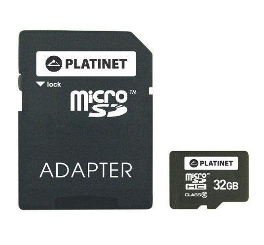 Ver Platinet 32GB MicroSDHC Adapter SD Clase 10