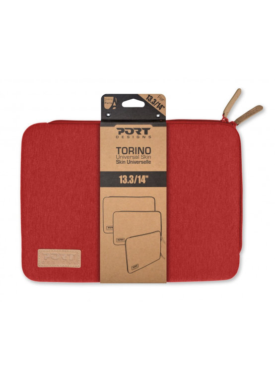 Port Designs TORINO Sleeve 14 Funda Rojo