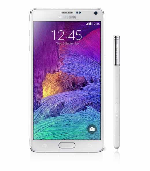 Ver SAMSUNG GALAXY NOTE 4 BLANCO