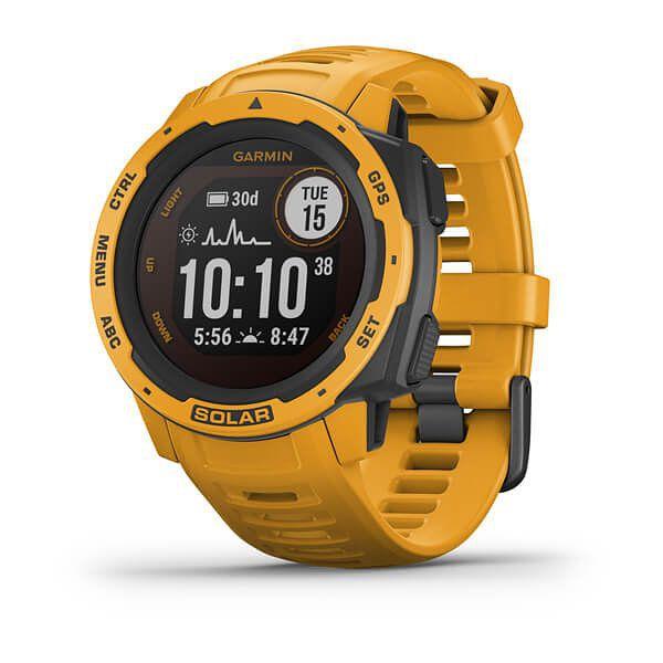 Smartwatch Garmin Instinct Solar Amarillo Ocre