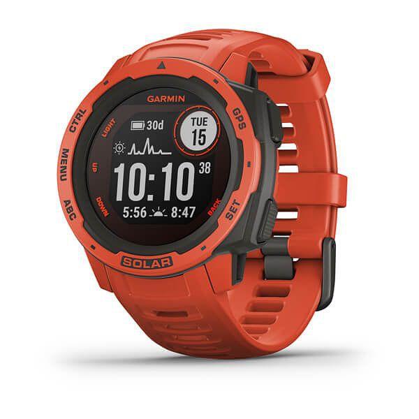 Smartwatch Garmin Instinct Solar Rojo