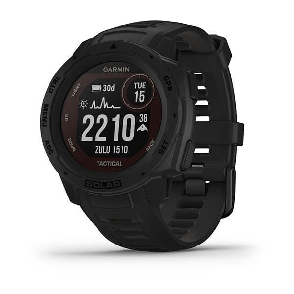 Smartwatch Garmin Instinct Solar Tactical Negro