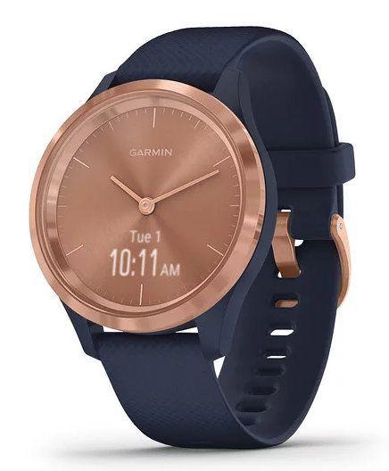Smartwatch Garmin Vivomove 3s Rose Goldazul Oscuro