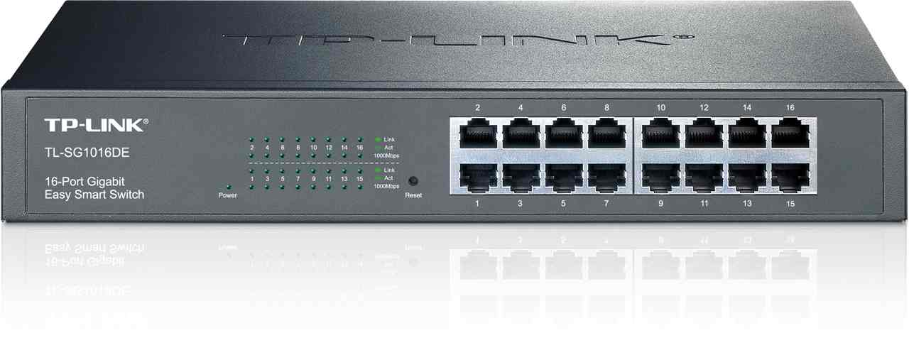 Ver SWITCH 16-PORT GIGABIT EASYSMART