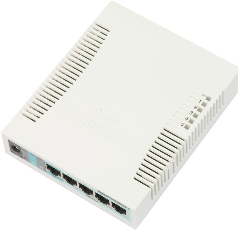 Ver SWITCH MIKROTIK RB260GS CSS106 5G 1S