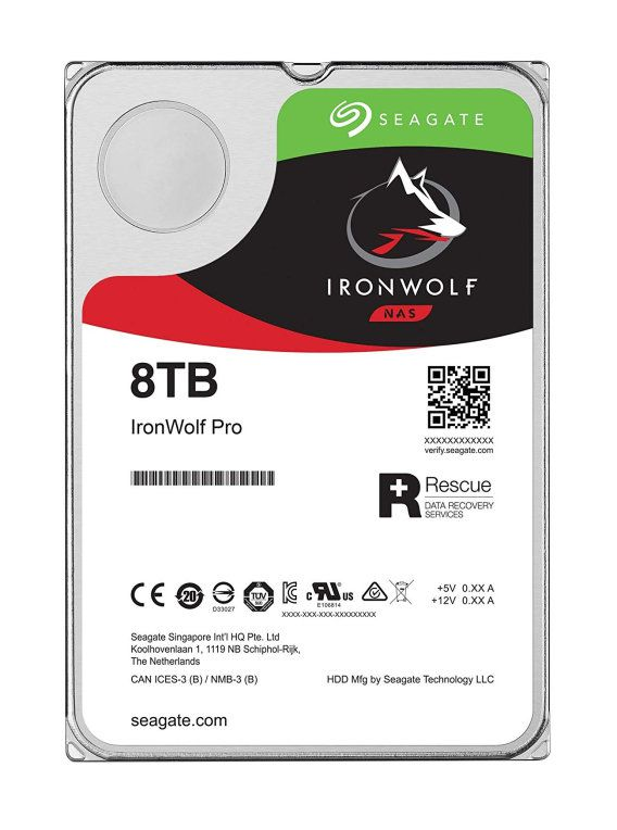 Seagate St8000vn004 Ironwolf Nas 8tb 35 Sata3