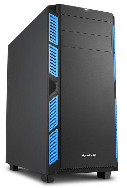 Ver Sharkoon AI7000 Silent Midi Negro Azul