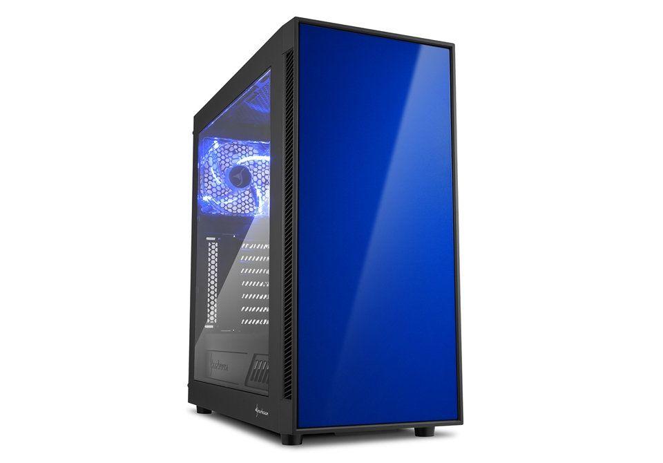Ver Sharkoon AM5 Window Negro Azul