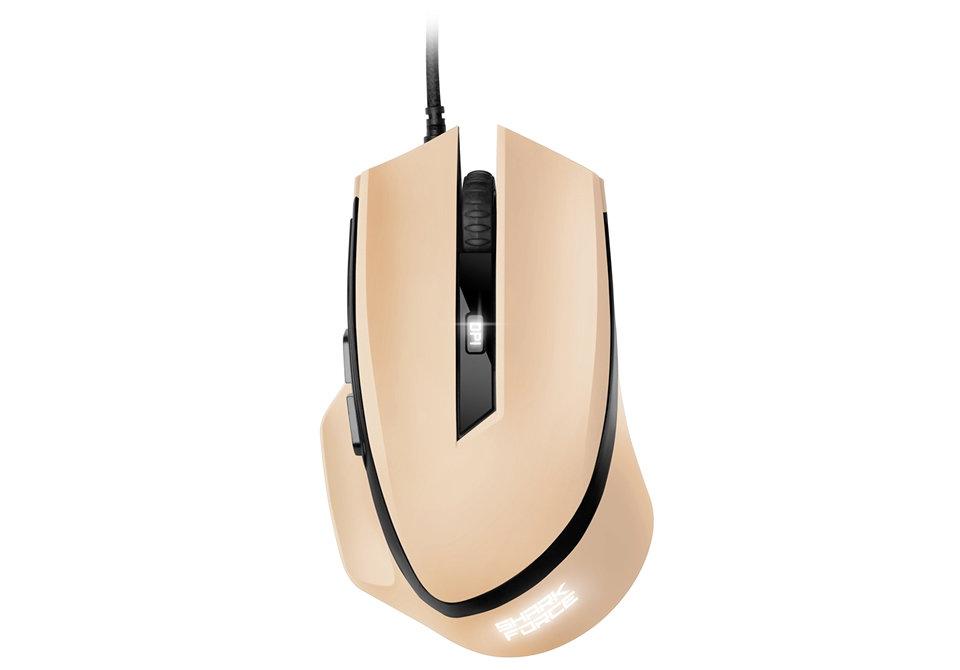Ver Sharkoon SHARK Force USB Optico 1600DPI Crema