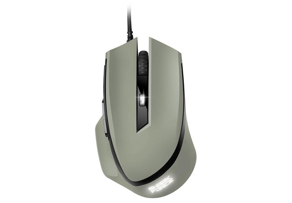 Ver Sharkoon SHARK Force USB Optico 1600DPI Gris