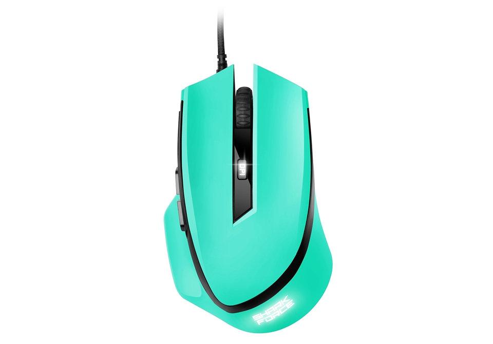 Ver Sharkoon SHARK Force USB Optico 1600DPI Verde