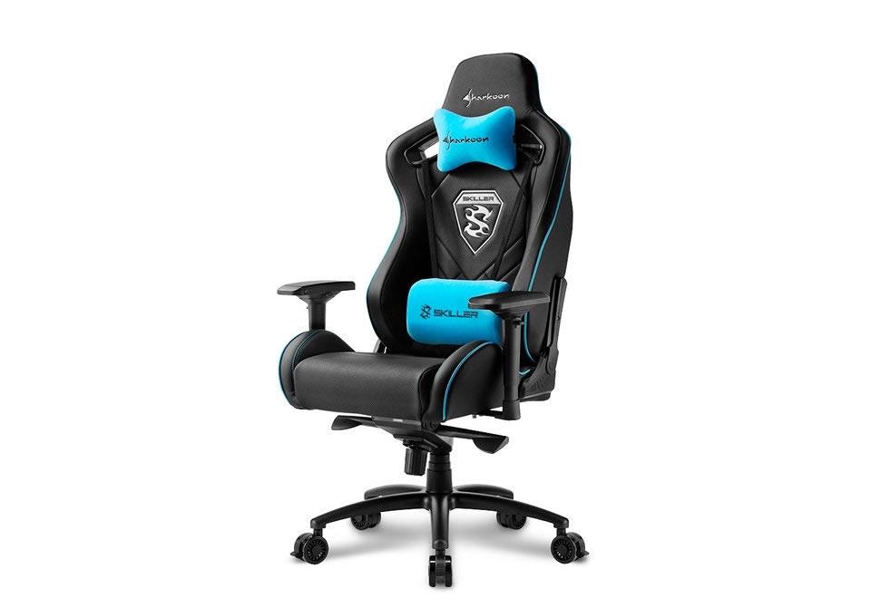 Sharkoon Skiller Sgs4 Negra Azul