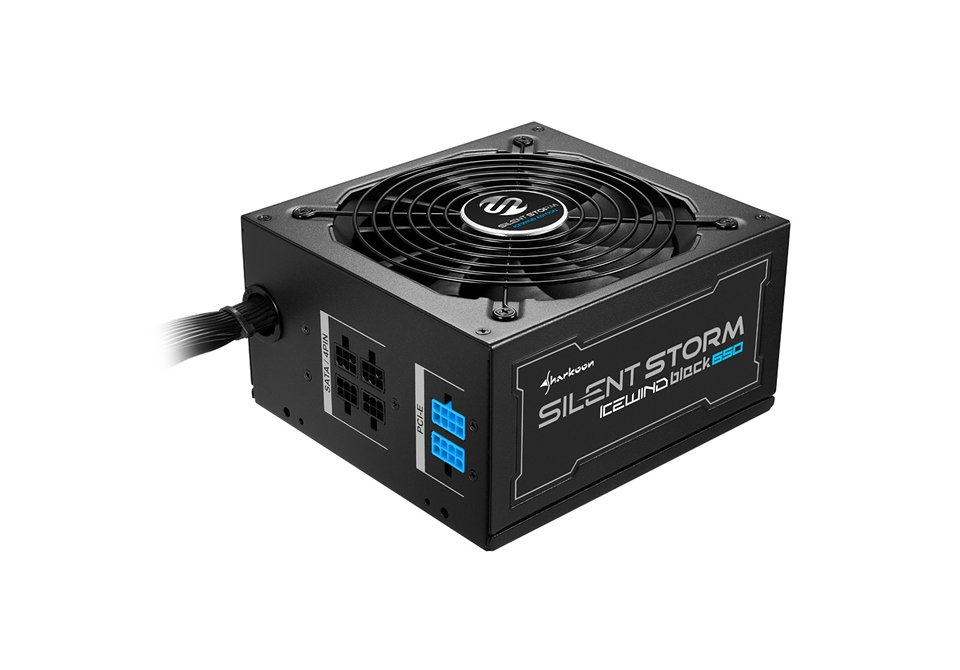 Ver Sharkoon SilentStorm Icewind Black 650W