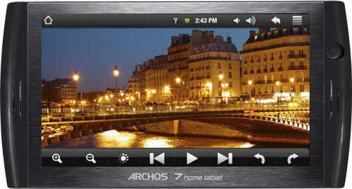 Tablet Pc Archos 7c Home