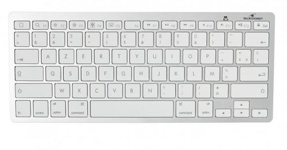 Ver TECLADO BLUETOOTH FR MAC PC TABLET