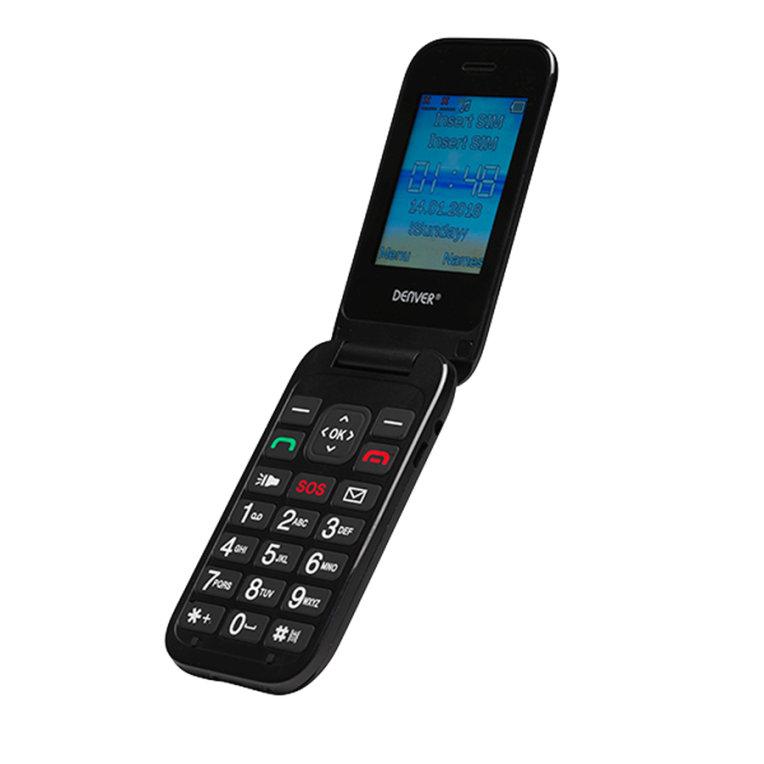 Telefono Senior Denver Gsm9001800 2 4negro